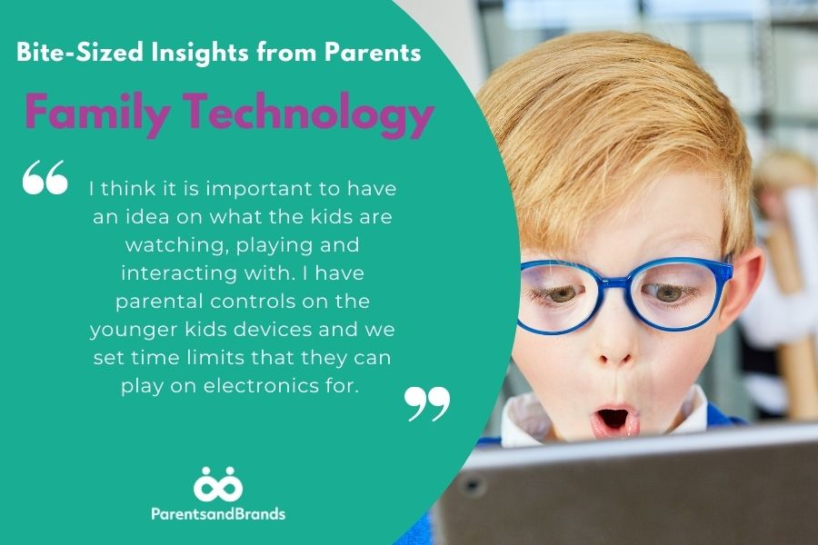 Bite Sized Insights from Parents about buying family technology