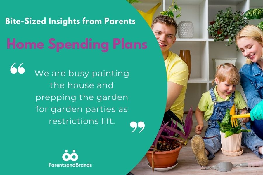 home and garden spending plans
