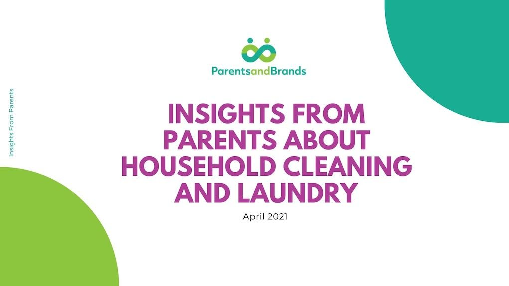 household cleaning and laundry report