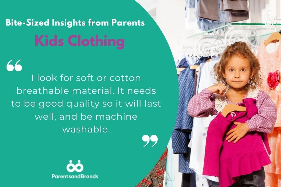 kids clothing insights